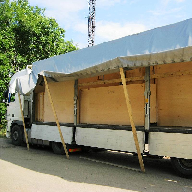 Доставка текстильного печатного оборудования для шелкографии до дверей. Исполнитель - сервисная служба компании Мировые печатные системы +7 (495) 727-0610.